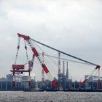 2014年8月16〜18日 ガントリークレーン移設作業 @名古屋港