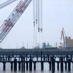2014年9月16日 「海翔」による重量物荷役作業 @名古屋港